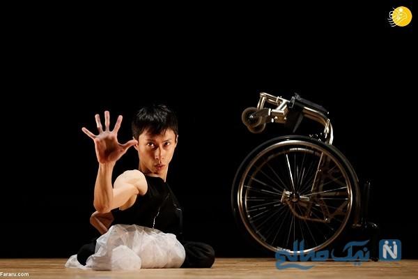 ویدیوی جالب از رقص در المپیک، رویای رقاص فلج