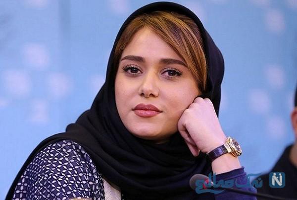 سانسور موهای پریناز ایزدیار بازیگر سرخ پوست در شبکه سه
