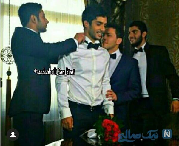 جشن عروسی ساعد سهیلی