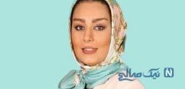 پوشش متفاوت و حجاب سحر قریشی بازیگر معروف
