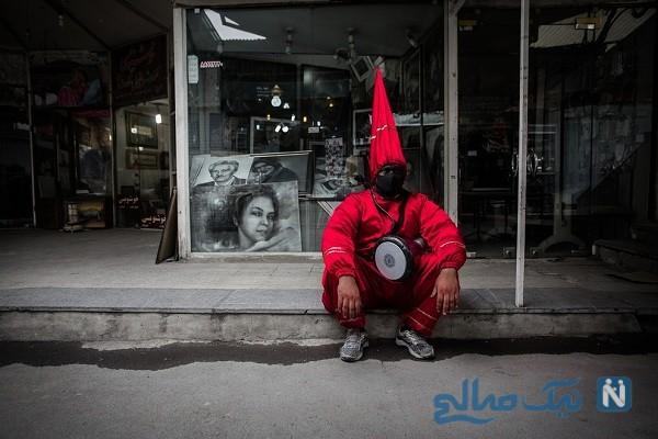 آواز غمناک حاجی فیروز در روزهای سرد و بی روح سال