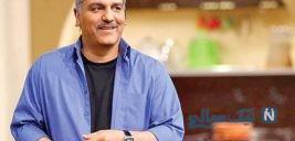 سوتی عجیب مهران مدیری در برنامه دورهمی