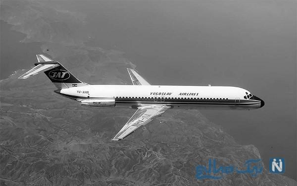 زنده ماندن مهماندار هواپیما بعداز سقوط از ارتفاع ۱۰ هزار متری
