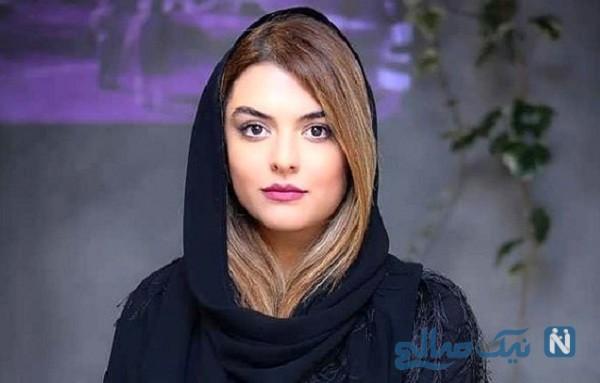 ماشین آنتی لاکچری دنیا مدنی بازیگر مشهور زن ایرانی