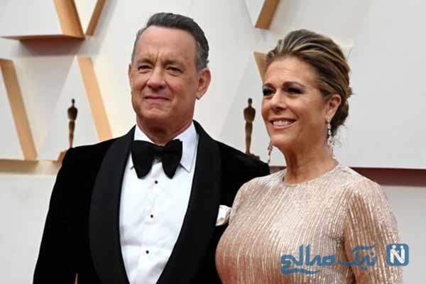 تام هنکس و همسرش در قرنطینه