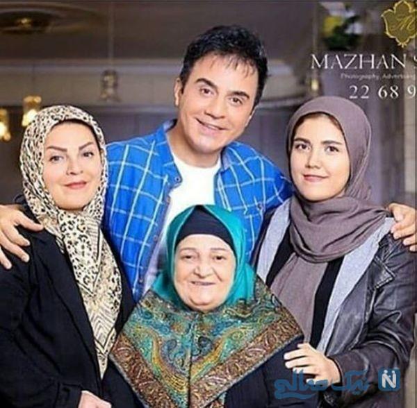 عمو پورنگ و خانواده اش