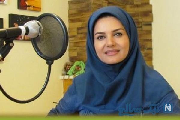 آزیتا رضایی خاله رویا مجری معروف و همسرش عمو مهربان
