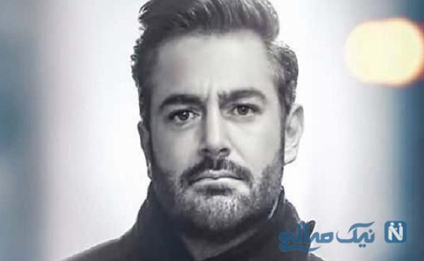 تیپ متفاوت محمدرضا گلزار روی یک ژورنال مد و لباس