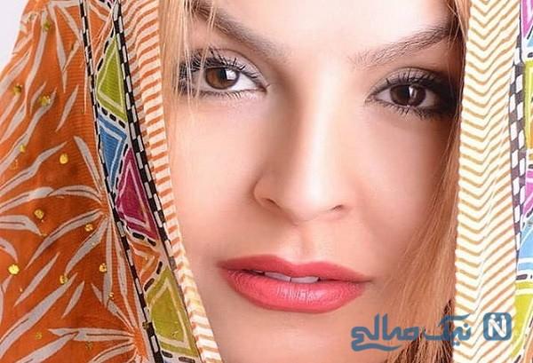 طبیعت گردی آزیتا ترکاشوند بازیگر زن ایرانی