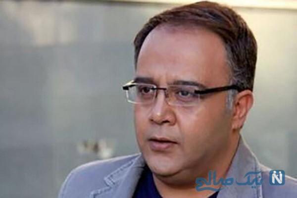 آخرین بازی تلویزیونی علی ابوالحسنی هنرپیشه طنز در سریال نون خ