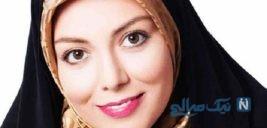 دختر آزاده نامداری | دلخوشی این روزهای مجری تلویزیون
