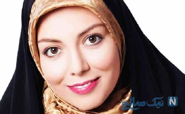 دختر آزاده نامداری   دلخوشی این روزهای مجری تلویزیون
