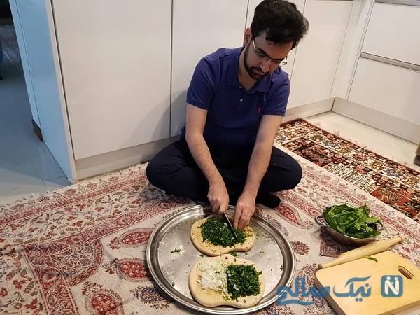 آشپزی وزیر ارتباطات