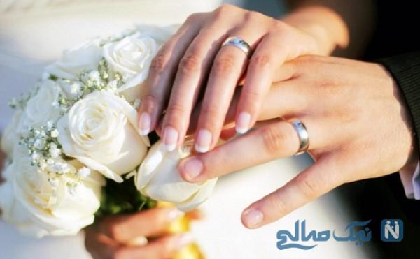 مراسم ازدواج عحیب یک زوج بی خانمان در کمپ کرونا
