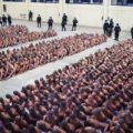 تصاویر عجیب از یک زندان؛ زهر چشم السالوادور از زندانیان تبهکار