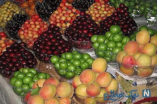 مصرف زیاد میوه