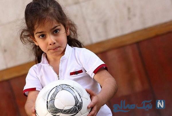 فری استایل و ضربه برگردان آرات حسینی فوتبالیست معروف