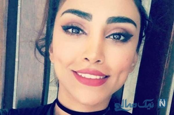 ست لباس جالب الهام عرب مدل معروف و دخترش