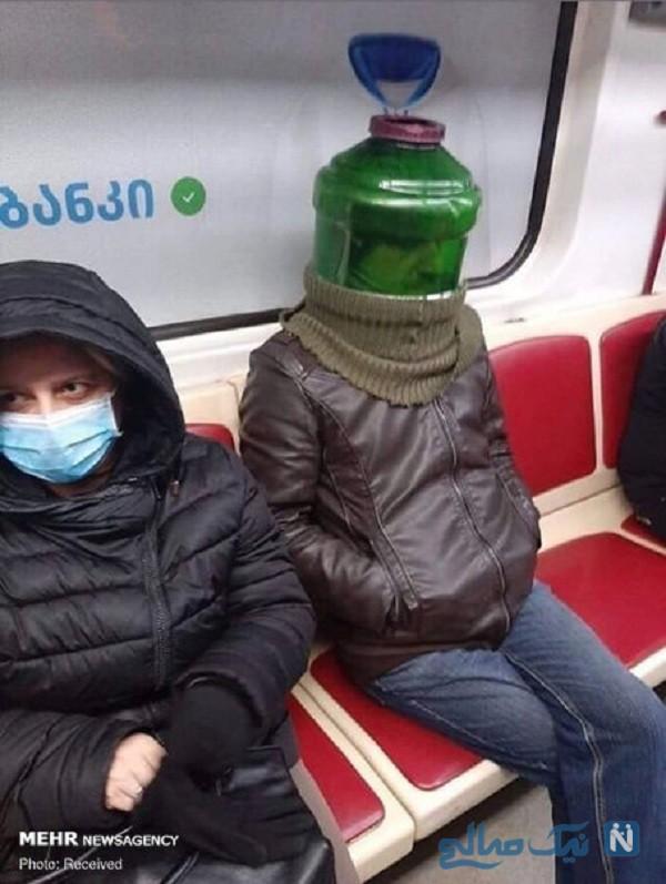 ماسک های خنده دار