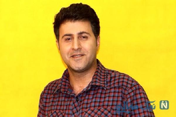 هومن حاجی عبداللهی بازیگر سریال پایتخت و همسرش