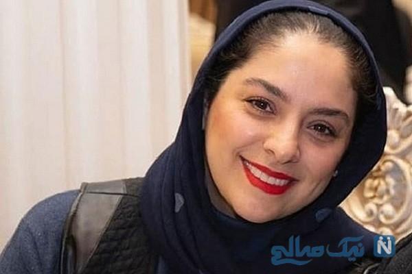 مارال بنی آدم بازیگر سریال هم گناه و همسرش علی سرابی