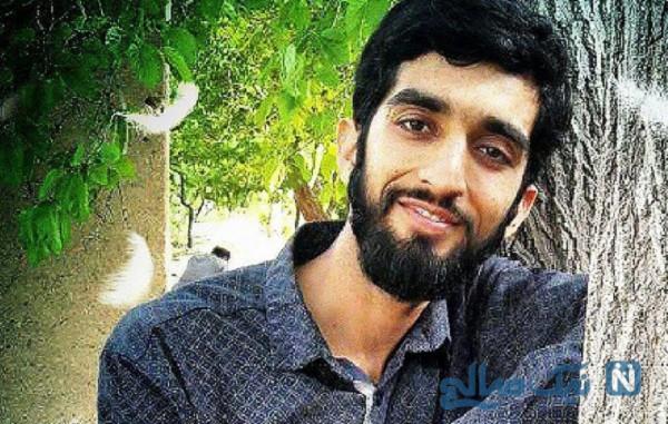 سنگ مزار محسن حججی شهید مدافع حرم در نجف آباد تعویض شد
