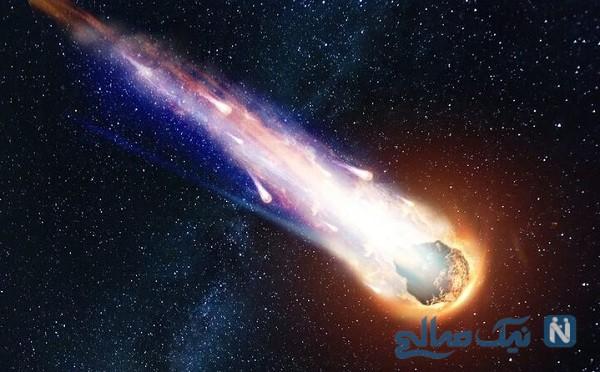 سیارک ماسک دار درحال نزدیک شدن به زمین , ببینید
