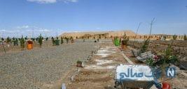 مزار بهشت معصومه قم در روزهای کرونایی