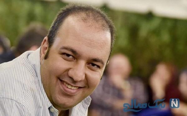 عکس جالب از مهران مدیری در پشت صحنه که علی اوجی منتشر کرد