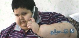 محسن پورمحمدی چاق ترین پسر ایران درگذشت