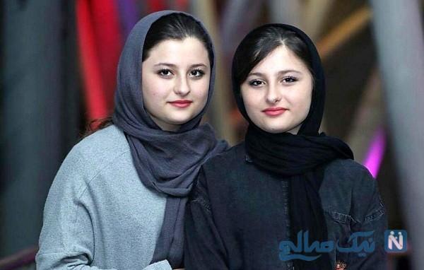 تصاویر جدید سارا و نیکا فرقانی دو قلوهای پایتخت