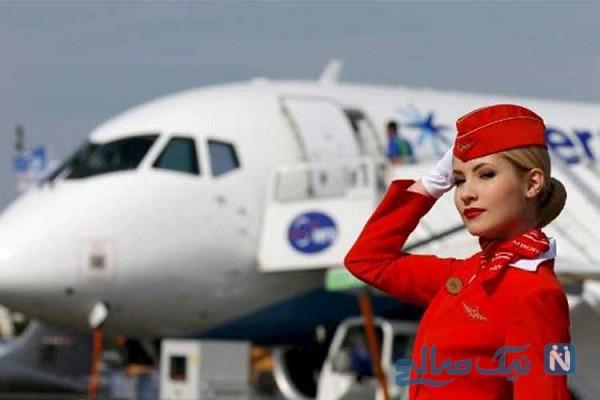 عکس مهماندارهای هواپیما