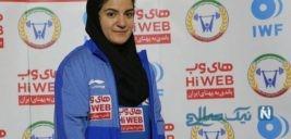 پوپک بسامی اولین دختر وزنه بردار ایران به مبارزه با کرونا رفت
