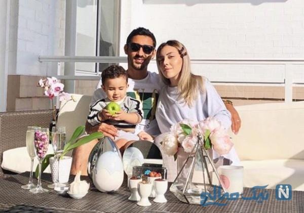 رضا قوچان نژاد و پسرش