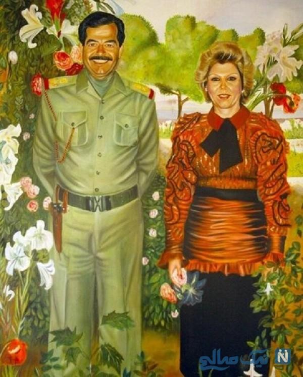 زن صدام حسین