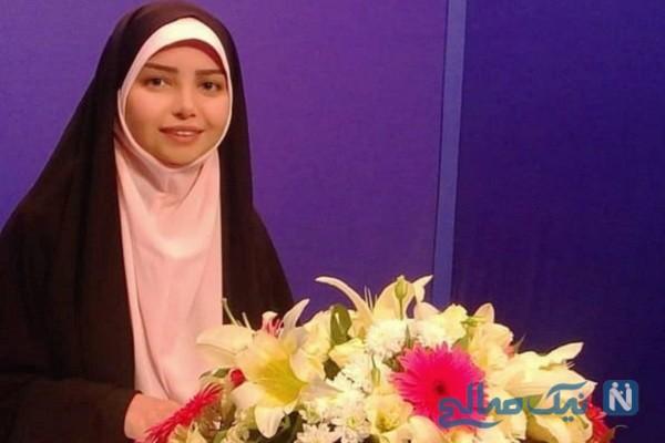 تصاویر ستاره جیریایی مجری برنامه جوانه ها در خارج تلویزیون