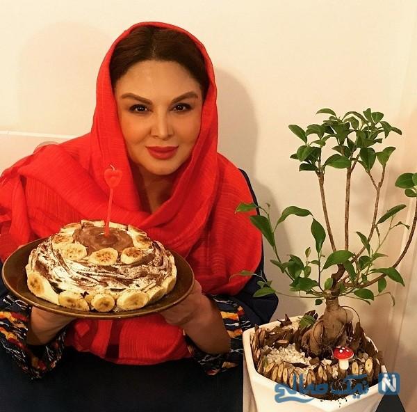 جشن تولد شهره سلطانی
