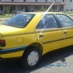تصادف عجیب و تلخ یک تاکسی در روزهای کرونایی خیابان سمیه تهران