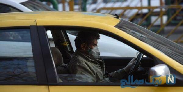 تاکسی زرد تهران