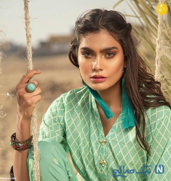 مدل زن پاکستانی