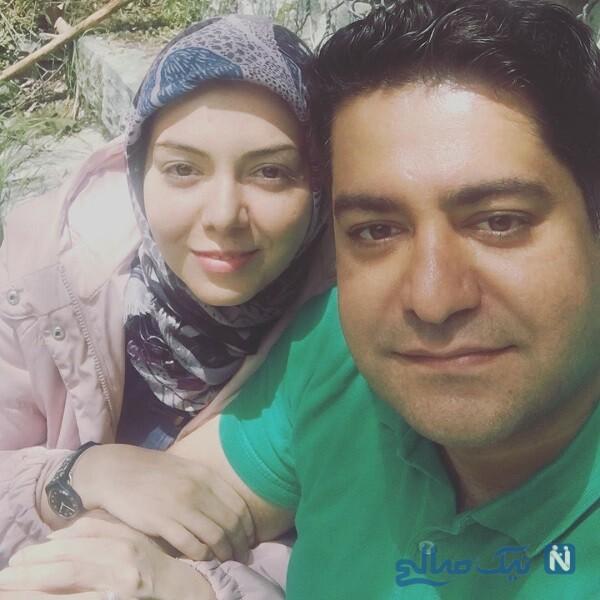 مجری با سابقه و همسرش