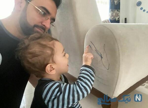 ماشین آذری جهرمی و پسر وزیر ارتباطات