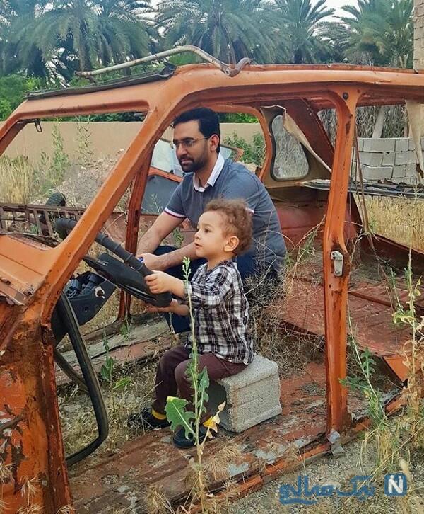 تصویری از ماشین آذری جهرمی