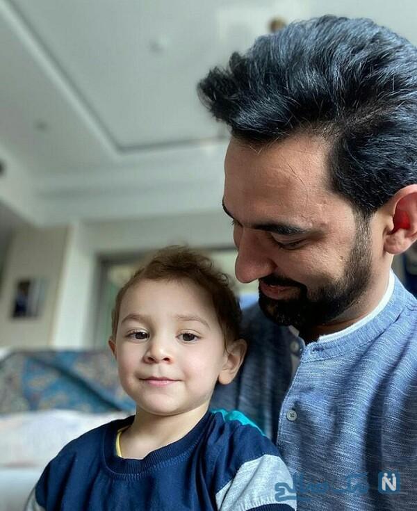 آذری جهرمی و پسرش