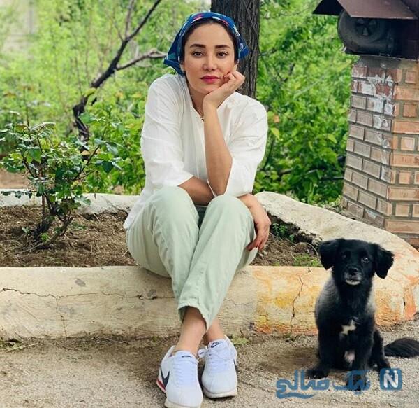 حیوان خانگی بهاره افشاری