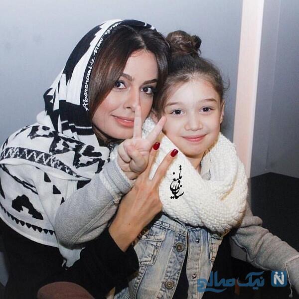 دختر بنیامین بهادری و شایلی محمودی