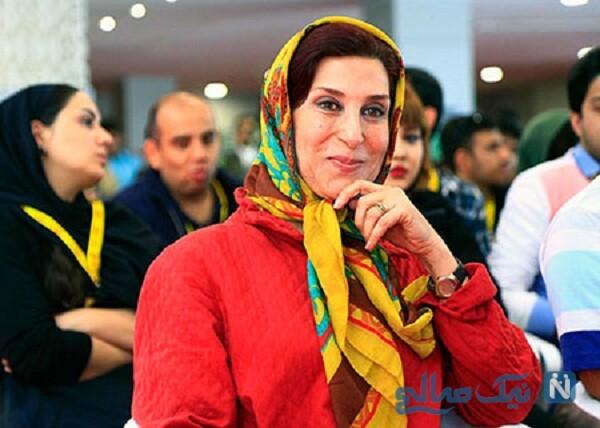 تصویری از پوشش فاطمه معتمد آریا
