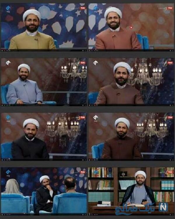لباده های متفاوت حجت الاسلام برمایی