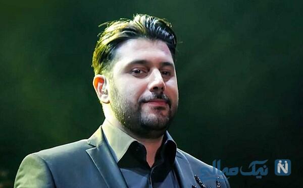 ورزش کردن احسان خواجه امیری خواننده معروف در باشگاه خلوت
