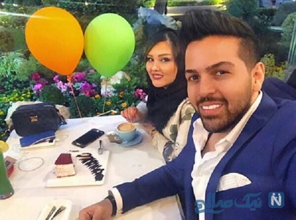 عماد طالب زاده و همسرش آتوسا یوسفی